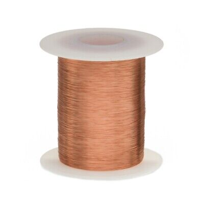 38 Awg Gauge Heavy Copper Magnet Wire 4 Oz 4840 Length 0.0049 155c Nat