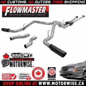 Flowmaster Outlaw Catback Exhaust System | 2009-2018 Toyota Tundra | Shop & Order Online at motorwise.ca