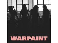 Warpaint ticket - Somerset house July 10th