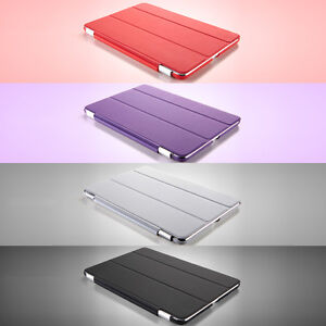 Ipad 2/3/4 Ultra Slim Magnetic Leather Smart Cover Case