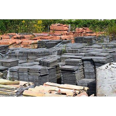 Monier Mrd12934 Cement Roofing Gray Tile Approx 4000 Tiles