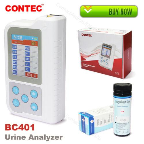 USA, CONTEC Portable Urine Analyzer 11 Parameters 100pcs Test Strips, Chargable