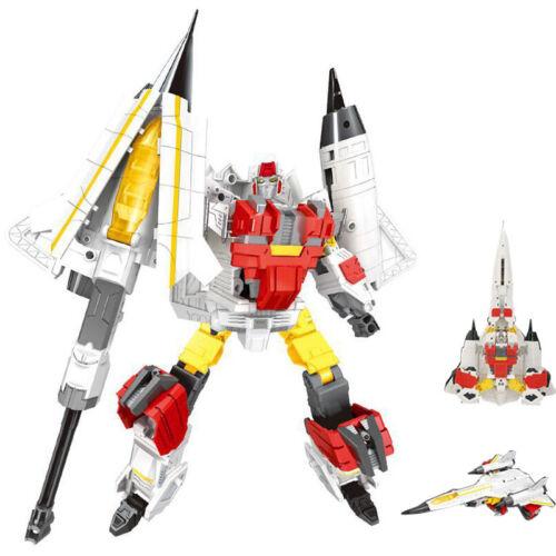 New Battleplane Transformation Robot Eagle King Action Figure  Model Toy
