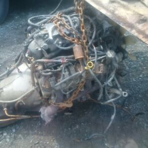 SOLD Good 6L chev engine
