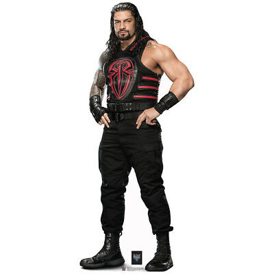 Stand Up Cutouts (ROMAN REIGNS WWE Wrestling CARDBOARD CUTOUT Standup Standee Poster FREE)