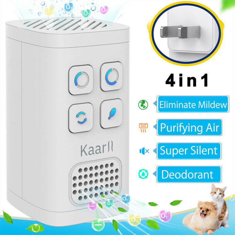 Home Air Purifier Cleaner Large Room Smoke Odor Remover Ozone Generate Ionizer