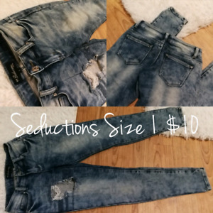 Seductions Skinny Jeans (size 1-3)