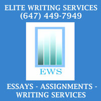 ESSAYS // ASSIGNMENTS // WRITING SERVICES!!