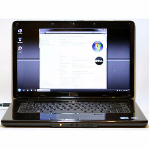 "Dell Inspiron 1545 Laptop Intel WiFi 3GB RAM 60GB 15.6"" Webcam"