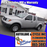 2007 Nissan Frontier Extended Cab with Cap Gas Miser SHARP Bedford Halifax Preview