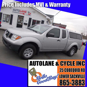 2007 Nissan Frontier Extended Cab with matching cap Smart lookin