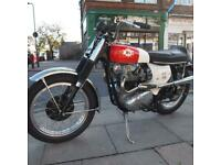 BSA Classic Vintage Rare Collectors Barn Finds always For Sale.