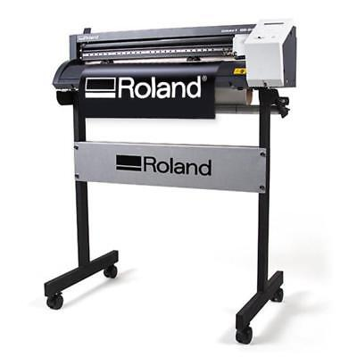 24 Roland Gs-24 Vinyl Cutter Cutting Plotter Camm-1 Professional Free Stand