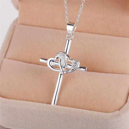 Love Infinity Cross Fine Jewelry Gifts Women for Wife Neckla