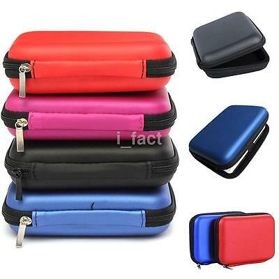 Classic Hard Carry Case Cover Pouch for 2.5 inch Power Bank HDD Hard Disk Drive