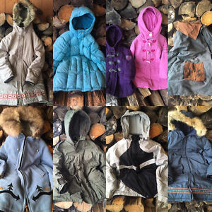 Variety of good quality coats and jackets
