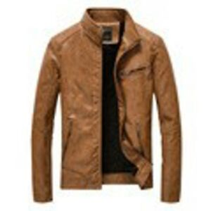 (NEW) Faux Leather Spring Jacket