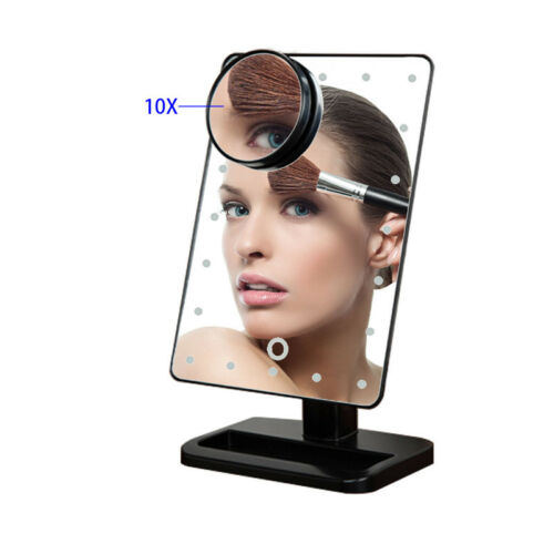 Advanced LED Lighted Vanity Hollywood Makeup Mirror Dimmer Stage Touch Beauty T Health & Beauty
