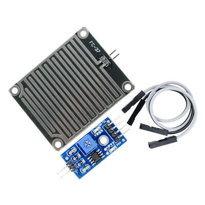 Raindrops Detection Sensor Rain Weather Module Humidity For Arduino Functional