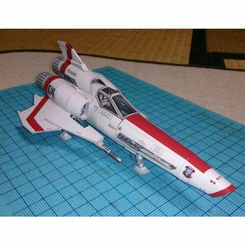 Battlestar Galactica Viper 2 Viper Mk II Ship Model Kit Spaceship DIY Toy Multi