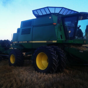 John deere 9500 4wd with low hours