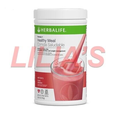 Herbalife Formula 1 Wild Berry Healthy Meal Replacement Shake 750g