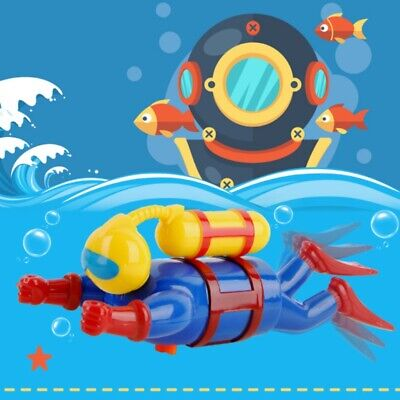 New Swimmers Scuba Diver Toy Wind Up Clockwork Sea Baby Kids Toy Bath Toy