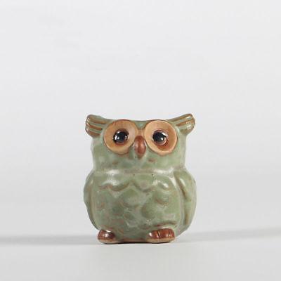 1PC Mini Owl Ceramic Succulent Planter Pot Flower Plant Garden Fashion Decor - Mini Pots