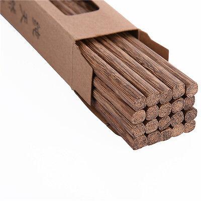 10 pairs 25 CM chopsticks,Wenge wood,Chinese Wooden Japanese style Kuaizi Gift