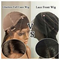 WHAT IS THE DIFFERENCE BETWEEN A LACE FRONT & FULL LACE WIG?