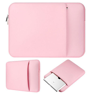 Pink Laptop Sleeve Notebook Case Bag For MacBook 11