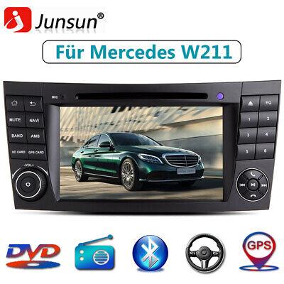 "7"" HD Autoradio DVD Für Mercedes Benz E Klasse W211 W219 Navi Radio DAB+ RDS GPS"