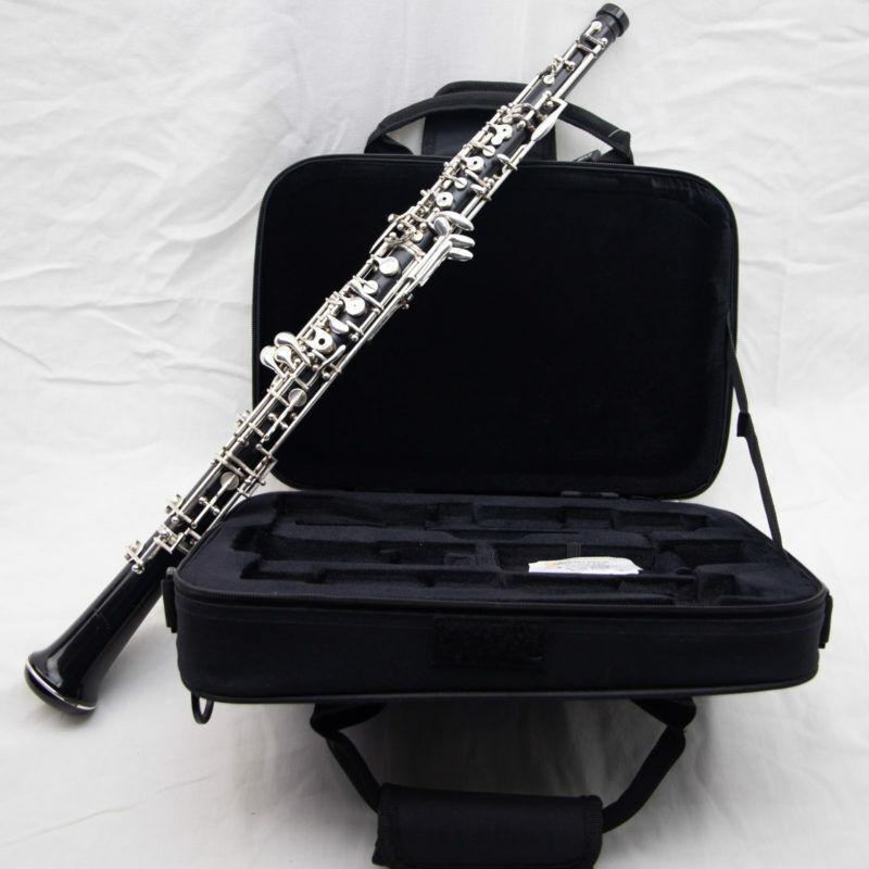 Fox 300 Full Conservatory Professional Oboe, Overhauled, Beautiful Left F,Renard