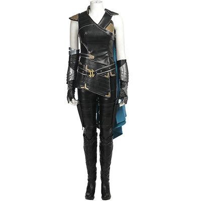 Thor III Ragnarök Valkyrie Cosplay Kostüm Costume Full Set Outfit Halloween v.2