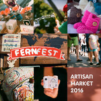  WANTED: Vendors for FernFest's Artisan Market