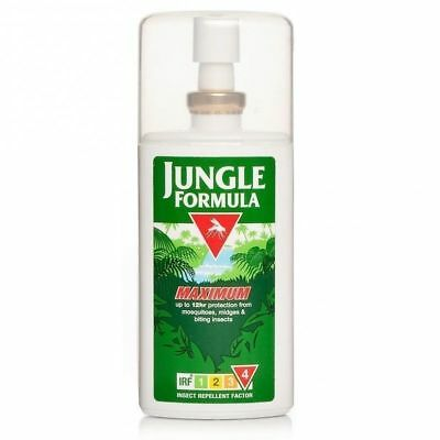 1X  Jungle Formula Maxium Pump Spray 90ml IRF4 50% DEET Insect Repellent