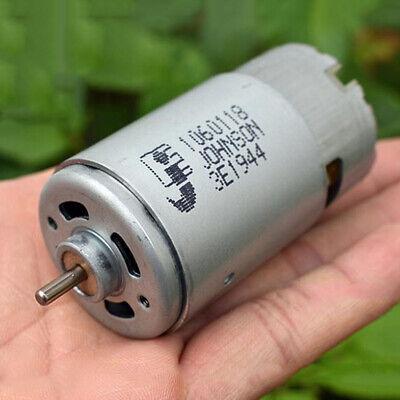 Johnson 1060118 Rs-570 Dc Motor Dc12v-24v 20000rpm High Speed Power Large Torque