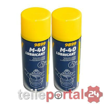[1L/EUR9,88] 2x 450mL MANNOL M-40 Lubricant Multifunktionskriechöl
