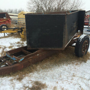 Grain Hopper Cart & Westfield auger
