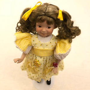Porcelain Doll Sculpted by Dianna Effner - Collectible Item