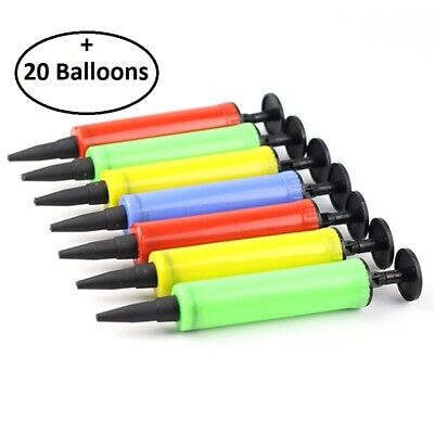 Balloon Pump Air Water Balloons Hand Inflatable Easy & Fast Inflation Party