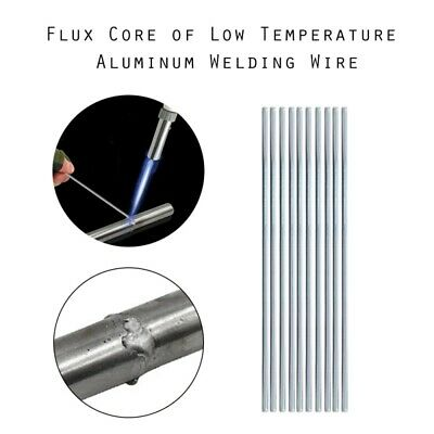 Easy Melt Welding Rods Low Temperature Aluminum Wire Brazing 10-50pcs 2500mm