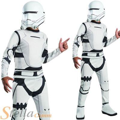 Boys Star Wars Force Awakens Episode 7 Flametrooper Fancy Dress Costume Outfit