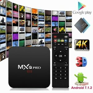 MXQ / MXQ Pro Android 7.1.2 TV Box Amlogic S905W KODI 17.6