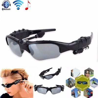 Bluetooth Sunglasses Wireless Headset Headphones Handfree For CellPhone With (Sunglasses With Bluetooth Headphones)