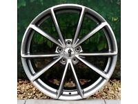 """19"""" RS4-C Alloy Wheels for VW Golf mk5, mk6, mk7, Jetta, Caddy Etc"""