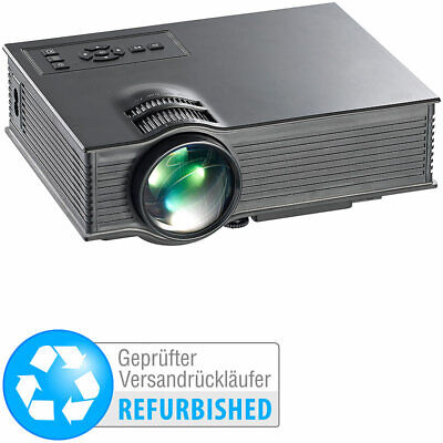 Beamer WLAN: LCD-LED-Beamer, SVGA, Miracast, DLNA & AirPlay (Versandrückläufer) Wlan-lcd