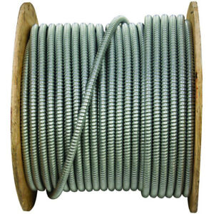 12/3 Armored Electrical Wire - 130 feet