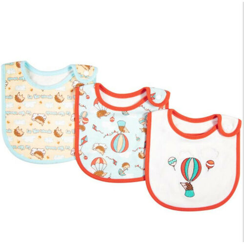 Baby Bibs for Boy Girl Bandana Bib Burp Cloth Print Animal C