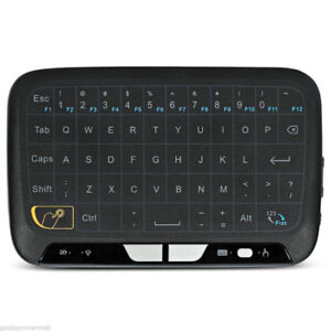 H18 2.4ghz Mini Wireless Keyboard USB Full Screen Large Touchpad